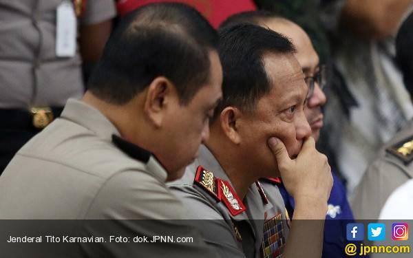 Tiba di Indonesia, Kapolri Langsung ke Mako Brimob - JPNN.com