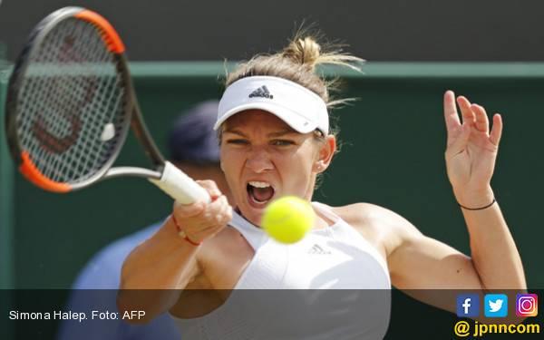 Tembus 8 Besar Wimbledon, Halep Selangkah Lagi jadi Nomor Satu Dunia - JPNN.com