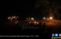 Fire Dance nan Rancak Sambut Tamu Baobab - JPNN.com