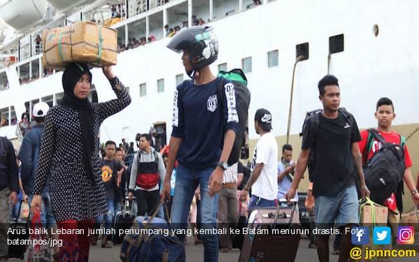 Ribuan Pemudik Tiba di Batam - JPNN.com