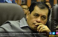 Nurdin Halid Pertanyakan Loyalitas PAN sebagai Pendukung Pemerintahan - JPNN.com