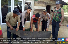 Pecahan Roket RRT Jatuh di Kampungnya Buya Hamka dan Bekas Ibu Kota RI - JPNN.com