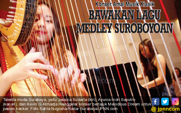 Konser Amal Musik Klasik Lagu Medley Suroboyoan - JPNN.com