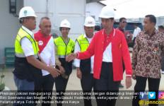 Jokowi Tinjau Progres Pembangunan Ruas Pekanbaru-Dumai - JPNN.com