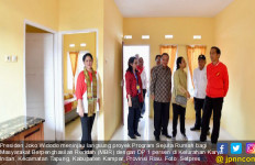 Jokowi Puji Kualitas Bangunan Rumah Bersubsidi di Riau - JPNN.com
