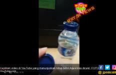 Akhir Keresahan Video Tutup Botol Bisa Dicukil, Aqua Bertanggung Jawab - JPNN.com