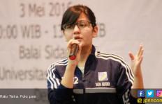 Ratu Tisha Tiba di Stadion Andi Mattalatta, Suporter: Selamat Datang Mafia, Huuuuu… - JPNN.com