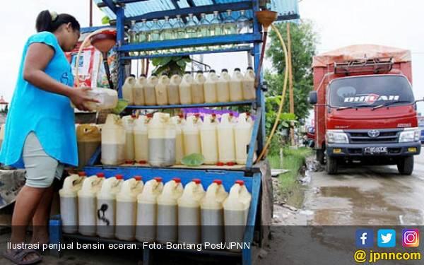 Penjual Bensin Eceran Segera Ditertibkan - JPNN.com