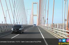 Tunggu Ya, Sebentar Lagi Tol Jembatan Suramadu Digratiskan - JPNN.com