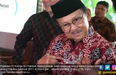Gambar Burung di Batik Pak Habibie Ini Bermakna Dalam Sekali - JPNN.com