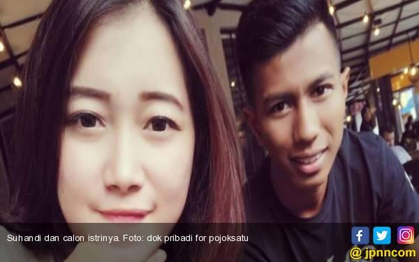 Top Skor PSMS Ini Persunting Gadis Manis Asal Cimahi, Wih Bening ya... - JPNN.com