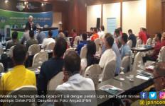 PT LIB Gelar Workshop TSG, Tiga Pelatih Tak Hadir - JPNN.com