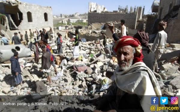 Saudi Kembali Bombardir Yaman, Pemukiman Jadi Sasaran - JPNN.com