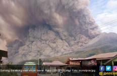 9.965 Hektare Lahan Pertanian Rusak Akibat Erupsi Gunung Sinabung - JPNN.com