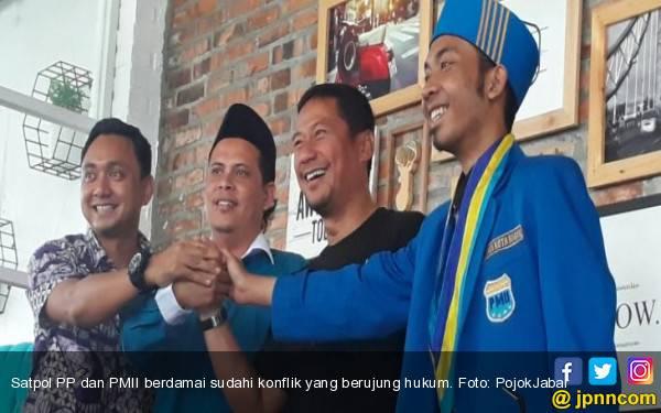 Kasus Aktivis PMII Remas Dada Satpol PP Bogor Berakhir Damai, Kok Bisa? - JPNN.com
