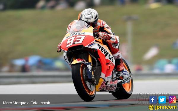 Cerdas! Diam-Diam Masuk Pit, Marquez Juara di MotoGP Ceko - JPNN.com
