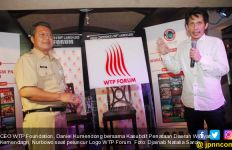 Logo Baru WTP Forum 2017 Dorong Indonesia Jadi Taman Wisata Dunia - JPNN.com