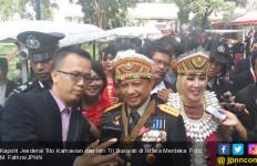 Kapolri Tak Sangka Istri Dapat Sepeda dari Pak Jokowi - JPNN.com