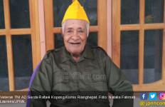 Kisah Veteran 93 Tahun, Lawan Perintah Jenderal Ahmad Yani Demi Sahabat - JPNN.com