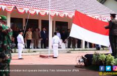 Puluhan Mantan Kombatan Ikuti Upacara Bendera di Lamongan - JPNN.com