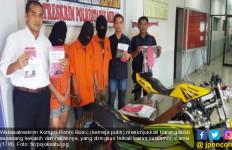 Sepasang Kekasih Kompak Curi Motor, Terekam CCTV, Dor! - JPNN.com