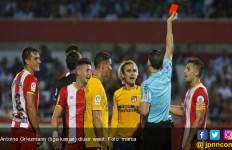 Sebut Wasit Pussy, Griezmann Kartu Merah di Pekan Pertama La Liga - JPNN.com