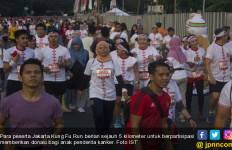 Daan Mogot City Ajak Lawan Kanker Dengan Lari dan Kung Fu - JPNN.com