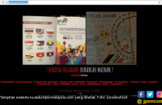 Merah Putih Terbalik, Hacker Mengamuk, Situs Malaysia jadi Sasaran - JPNN.com