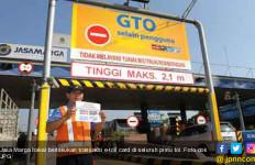 Top Up Ada di Gardu Tol Sebelah Kiri - JPNN.com