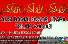 Begini Isi Selebaran Mengajak Demo Tolak Wahabi di Bogor - JPNN.com