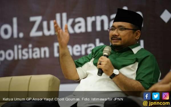 Imbauan Ketum GP Ansor terkait Aksi Super Damai PA 212 di Gedung MK - JPNN.com