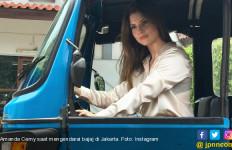 Intip Serunya Eks Model Majalah Playboy Saat Berada di Jakarta - JPNN.com