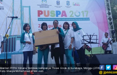 Di Surabaya, Menteri Yohana Kampanyekan Three Ends - JPNN.com