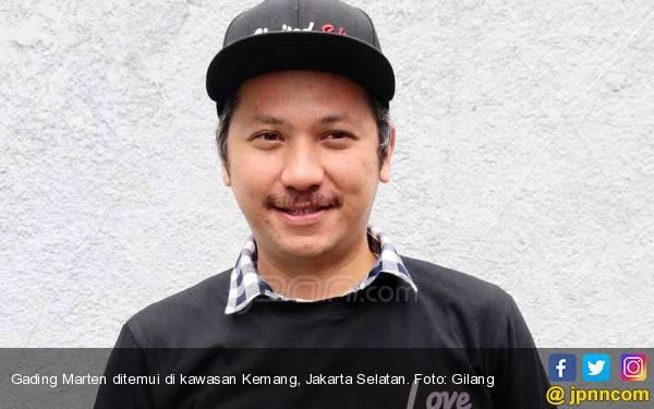 Jelang Coblosan, Gading Marten Pamer Foto Minum Kopi Bareng Jokowi - JPNN.com