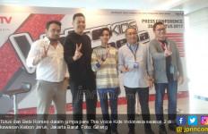 Kembali Jadi Mentor The Voice Kids Indonesia, Begini Kata Tulus dan Bebi Romeo - JPNN.com