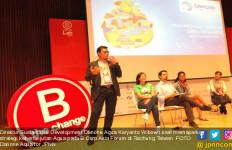 Danone Aqua Paparkan Strategi Keberlanjutan di B Corps Forum Taiwan 2017 - JPNN.com
