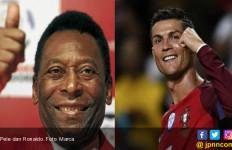 Pecahkan Rekor, Cristiano Ronaldo Dapat Ucapan Selamat dari Pele - JPNN.com