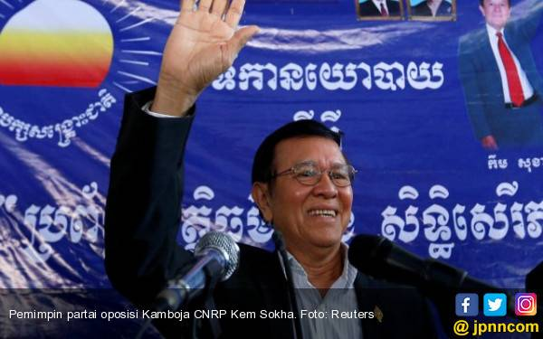 Pemerintah Kamboja Bebaskan Pemimpin Oposisi dari Tahanan Rumah - JPNN.com