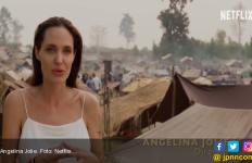 Angelina Jolie Minta Presiden Kolombia Bantu Anak-Anak Venezuela - JPNN.com