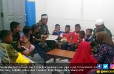 Kisah 2 Marinir Mengajar Ngaji di Perbatasan Indonesia-Malaysia - JPNN.com