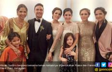 Wulan Guritno Reunian di Pernikahan Hamish Daud & Raisa  - JPNN.com