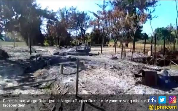 Pemerintah Myanmar Rampas Lahan Pengungsi Rohingya - JPNN.com
