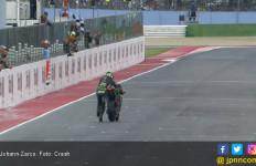 Johann Zarco Dorong Motor Sampai Garis Finis di Misano - JPNN.com