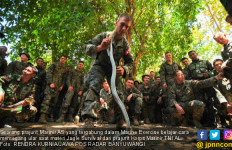 Latihan Bersama, TNI AL Latih Marinir AS Tangkap Ular - JPNN.com