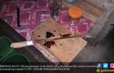 Eko Potong Organ Vital Menggunakan Parang - JPNN.com