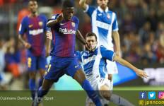 Sinyal Ousmane Dembele jadi Starter di Barcelona vs Juventus - JPNN.com