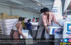 Alhamdulillah, Bantuan Indonesia Untuk Rohingya Sudah Tiba - JPNN.com