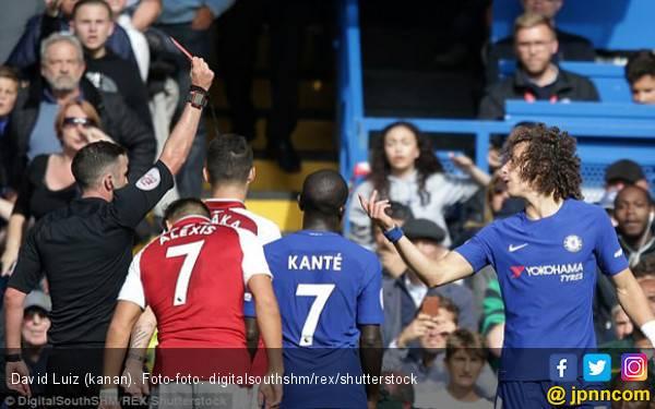 Tentang David Luiz dan Empat Kartu Merah Chelsea - JPNN.com