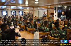Pembekalan Jelang Pelayaran Perdana KRI Bima Suci - JPNN.com