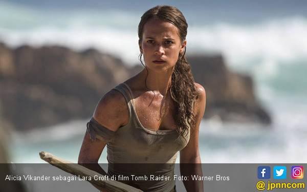 Reboot Tomb Raider: Lara Croft Tetap Pamer Belahan Dada - JPNN.com